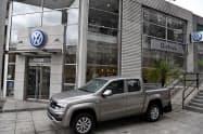 VWは輸出先のアルゼンチンでも販売不振に苦しむ(ブエノスアイレス)