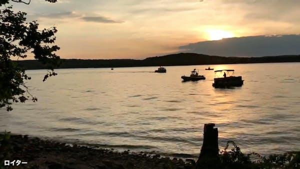 米でボート転覆17人死亡 観光客用、ミズーリ州の湖