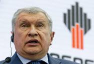 ロスネフチのセチン社長はプーチン大統領に近い実力者として知られる=ロイター