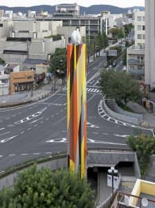岡山芸術交流2016では岡山城周辺を舞台に様々な作品が登場した((C)Okayama Art Summit 2016)