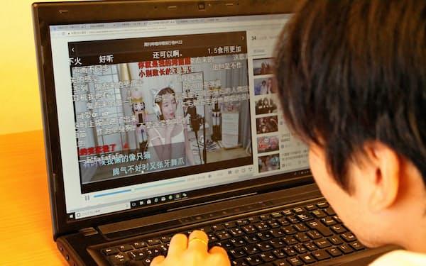 ビリビリ動画はユーザーが配信・投稿する生放送や動画が9割を占める
