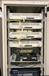 開発した共用設備。省ペースの設計で限られた空間を有効活用できる。