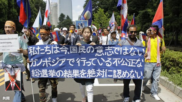 揺らぐアジアの民主主義(複眼)