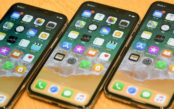 「iPhoneX」の販売不振は部品各社の株価下落につながった