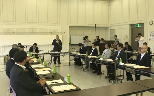 日高線の沿線自治体が第5回の調査・検討協議会を開いた(30日、新ひだか町)