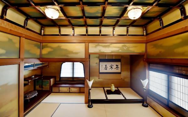 15年ぶりに特別公開される3階の和風空間「御成の間」(京都市東山区)