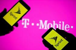 スプリントはTモバイルUSとの経営統合を公表している=ロイター