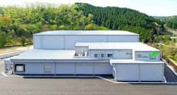 バイテックが本格稼働させたレタス工場(石川県中能登町)