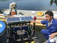 IoT技術で諏訪湖の水質を常時、遠隔観測する