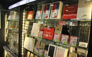 中古市場でもiPhoneシリーズが人気を集める