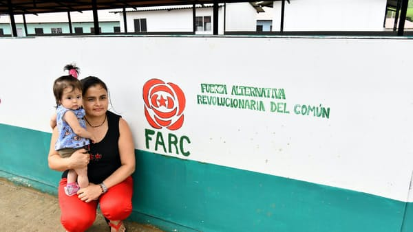 コロンビア、元ゲリラ兵たちの新たな闘争