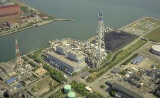 Jパワーの高砂火力発電所(兵庫県高砂市)