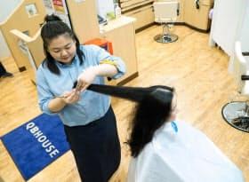 最近は女性客の取り込みも強化している(東京都目黒区の碑文谷店)