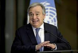 国連のグテレス事務総長は加盟国の分担金支払いの遅れに危機感を募らせている=ロイター