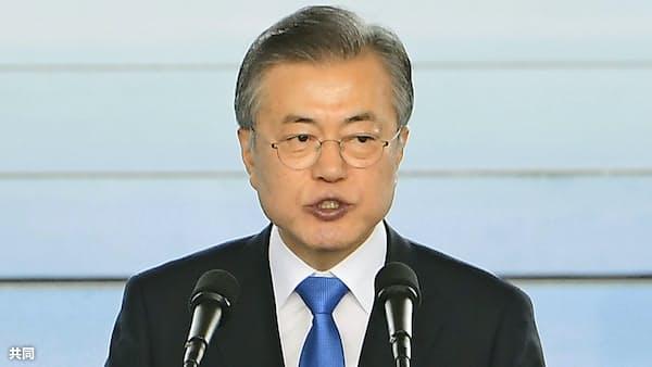 文政権、金正恩氏訪韓に執着 支持率回復狙う