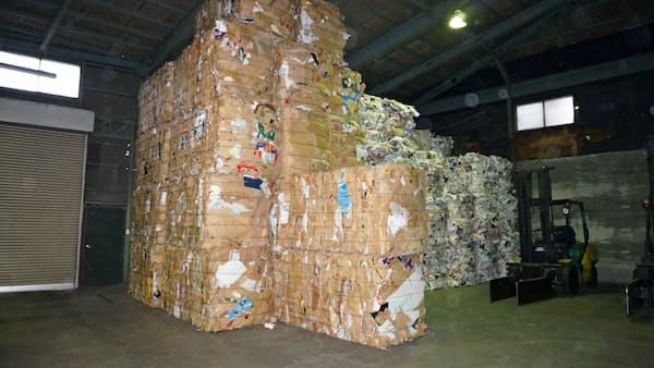 段ボール古紙、関東の中国向け輸出が半年ぶり再開 価格は4割高