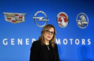GMのメアリー・バーラCEO=AP