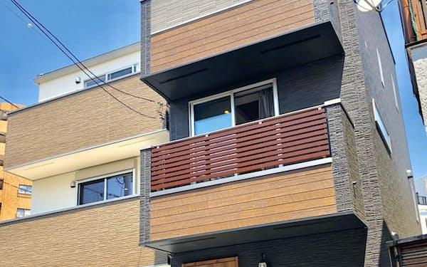 オープンハウスが開発した戸建て住宅(東京都豊島区)