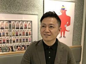 スポーツブルを立ち上げた運動通信社の黒飛功二朗社長