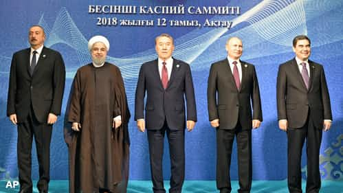 ロシア、カスピ海に先手 沿岸諸国と領有権合意