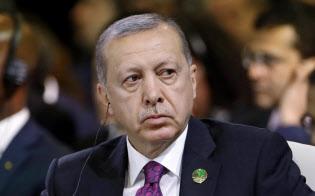 米国と対立するトルコは中国に急接近(エルドアン大統領)=AP