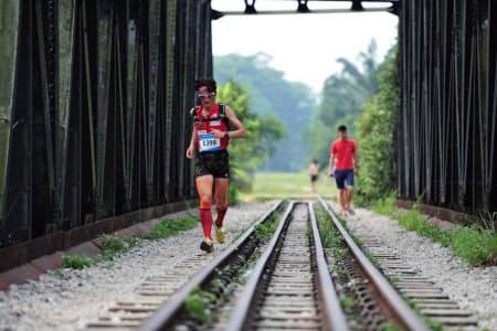 2015年、シンガポールでのレース。酷暑の闘いは意外性に満ちている