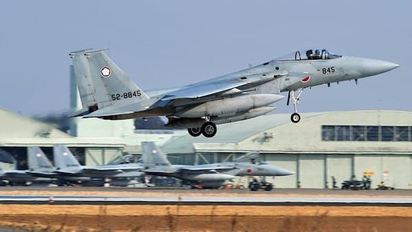 自衛隊、電子戦に本格対応 F15改修や管制システム能力向上