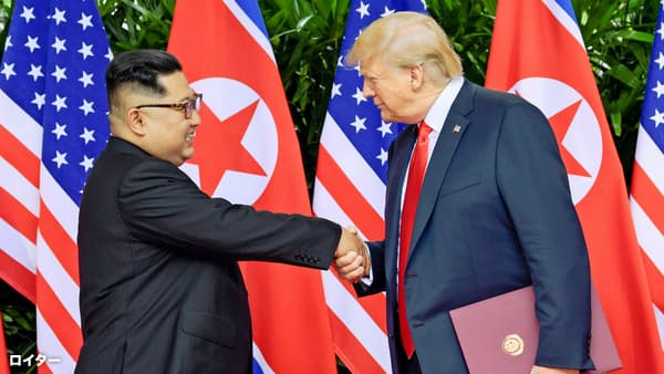 復活する北朝鮮の天びん外交