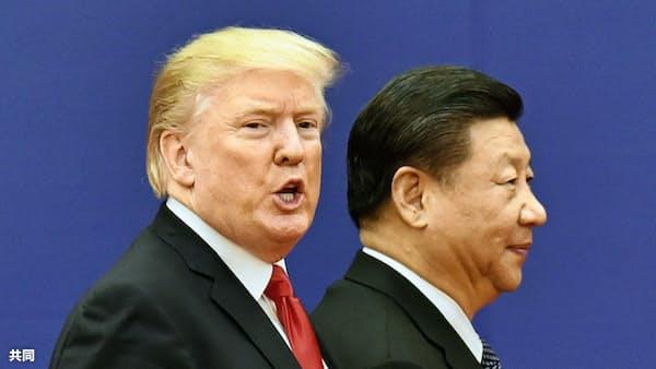 米中、貿易協議再開を模索 トランプ氏、なお強硬姿勢