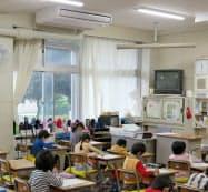 文科省は教室へのエアコン導入で猛暑対策を進める