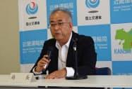 7月31日付で就任した八木一夫近畿運輸局長