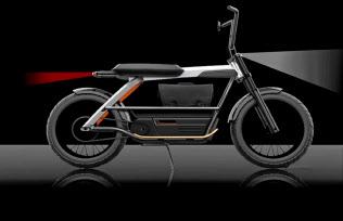 軽量電動バイクを22年までに発売する(コンセプトデザイン)