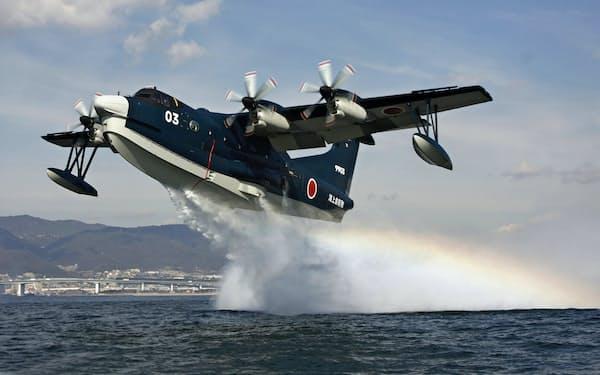 救難飛行艇「US2」は過酷な環境に耐えられる