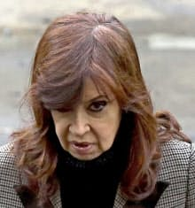 アルゼンチンのフェルナンデス前大統領=ロイター