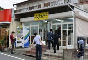 2017年9月に開店した大阪府千早赤阪村の弁当店=共同