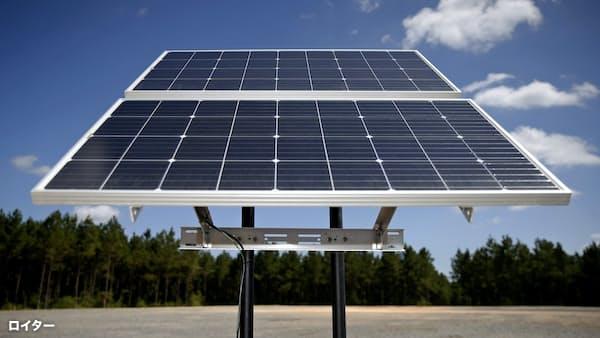 米軍、石炭重視の政権下で太陽エネに投資