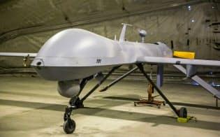 米軍の無人機「プレデター」は遠隔操作で飛行する=ロイター