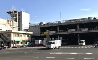 築地市場は10月に業務を終える(東京都中央区)