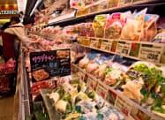 ほとんどのスーパーがサラダチキンを取り扱うようになっている