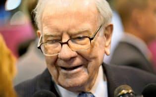 バフェット氏は米年金問題を「米国の時限爆弾」と呼んだ=ロイター