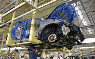 マツダはメキシコ生産車を米国で販売(メキシコの工場)