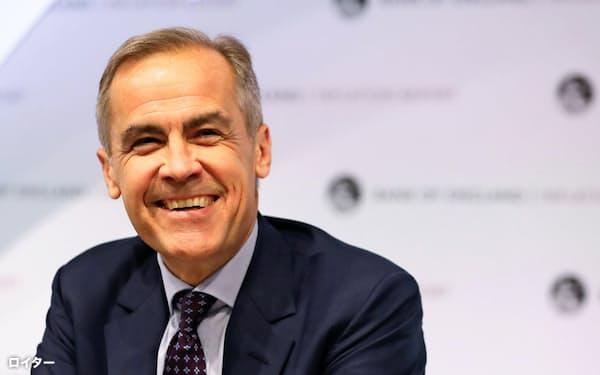 カーニー英中銀総裁は2019年6月末で退任を予定している=ロイター