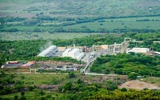 富士電機の発電機を使用した地熱発電所