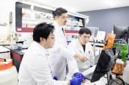 メトセラの研究室では細胞の特徴を解析し、心不全の治療薬開発を進める
