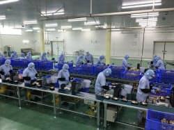 西日本エリアへのまいたけ供給拡大を担う滋賀パッケージセンター(滋賀県竜王町)