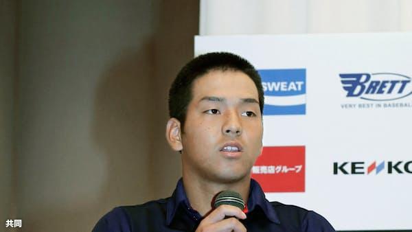 中川主将「連覇したい」 野球のU18アジア選手権、3日開幕