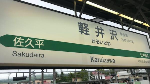 軽井沢は政治の舞台(写真でみる永田町)