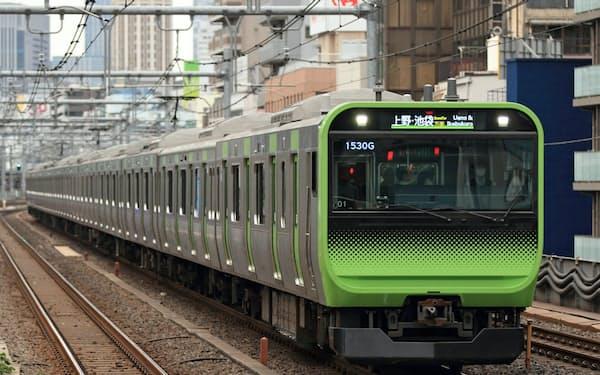 JR東は他社との連携を進めながら、自動運転の実現を目指す(山手線のE235系、JR東日本提供)