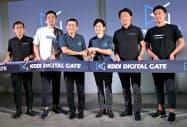 5GやIoT時代の有力企業を素早く見つけて連携する(5日、東京都港区)