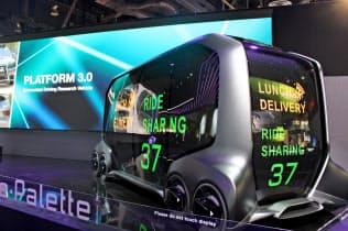 人やモノを完全自動運転で運ぶEVコンセプト